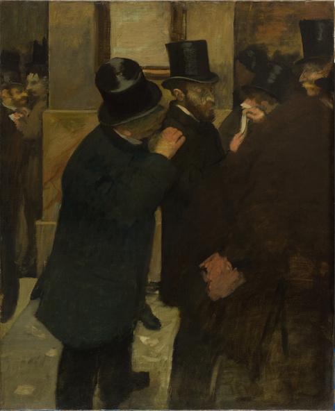 Edgar Degas-Portraits à la Bourse