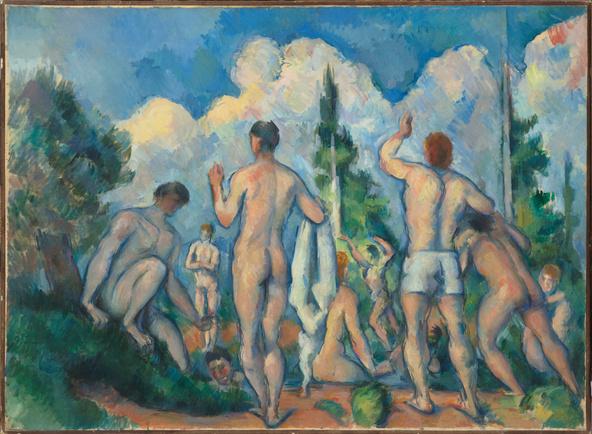 Paul Cézanne-Baigneurs