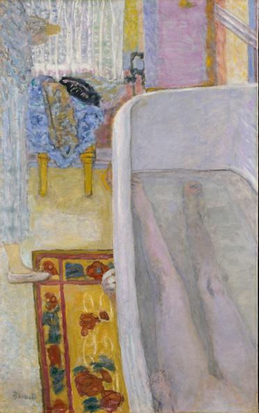 Pierre Bonnard-Nu dans la baignoire