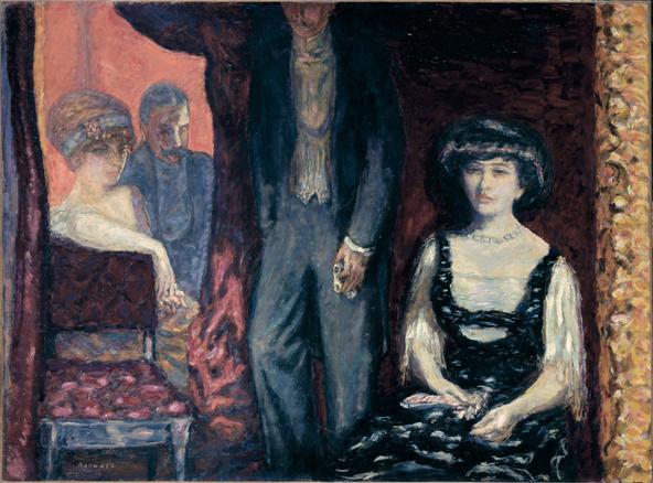 Pierre Bonnard-La loge