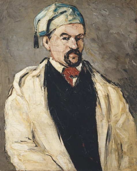 Paul Cézanne-L'Homme au bonnet de coton (L'Oncle Dominique)