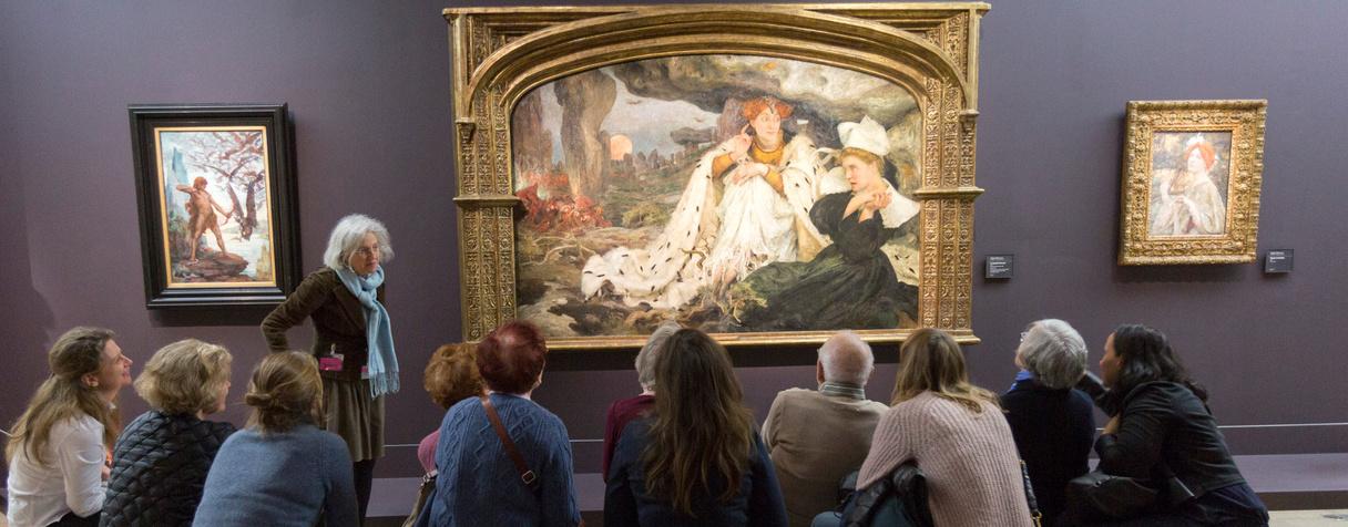 Visite guidée en groupe, musée d'Orsay