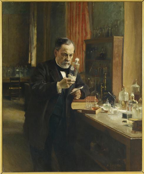 Albert Edelfelt -Louis Pasteur