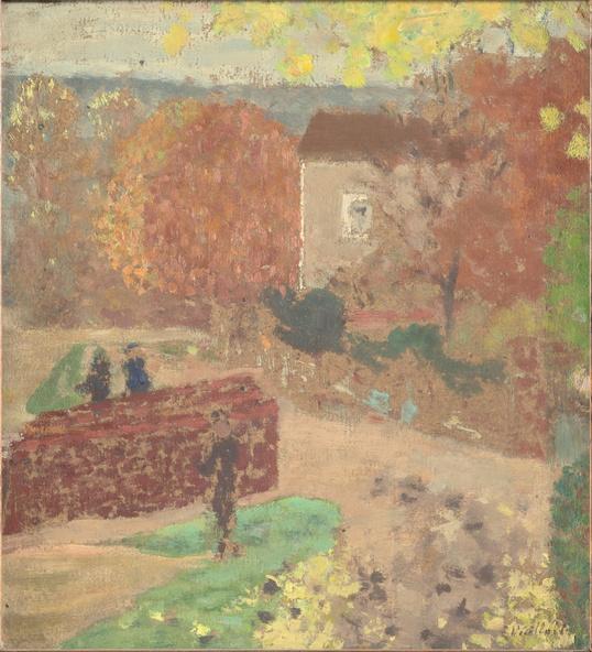 Edouard Vuillard-La maison de Mallarmé à Valvins