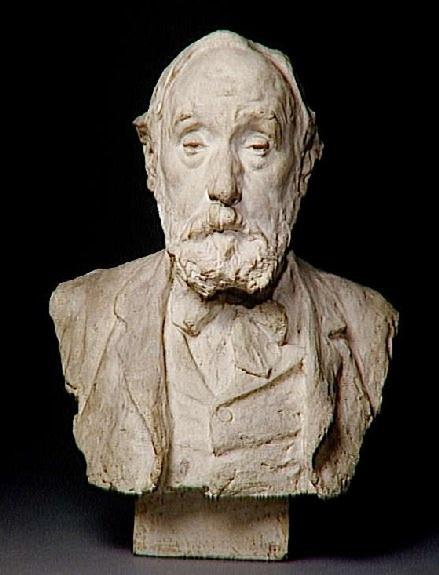 Edgar Degas-Portrait de l'artiste