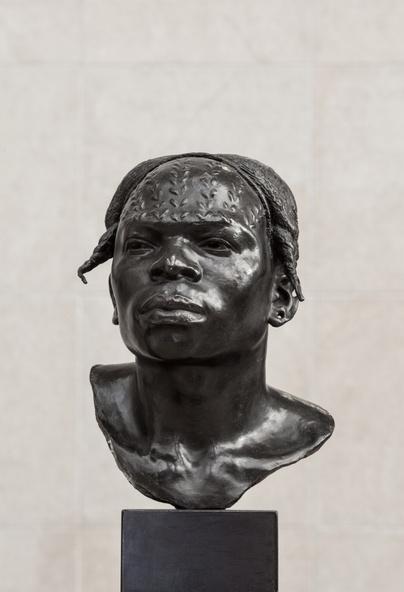 Herbert Ward-Indigène Aruimi : souvenir de voyage de l'expédition Stanley