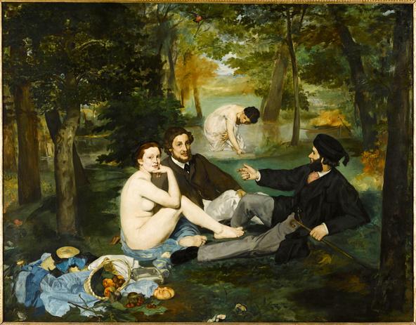 Edouard Manet-Le déjeuner sur l'herbe