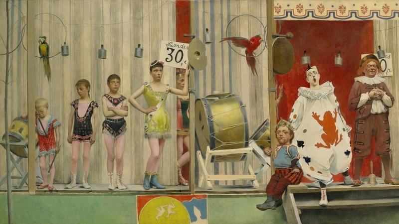 Grimaces et Misère : les saltimbanques (1887-1888), Fernand Pelez