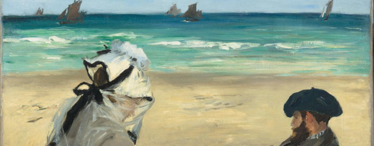 Sur la plage (en 1873), Manet, Edouard