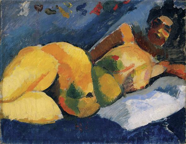 Róbert Berény-Nu féminin couché