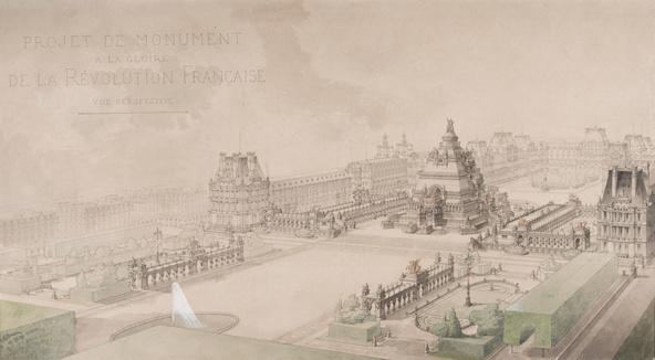 Louis-Ernest Lheureux -Monument à la gloire de la Révolution française