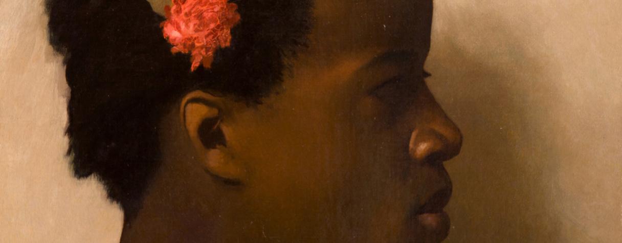 """Etude d'après un modèle féminin pour """"A vendre, esclaves au Caire"""" (Vers 1872), Jean-Léon Gérôme"""