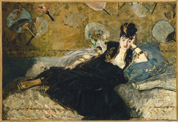 Edouard Manet-La dame aux éventails