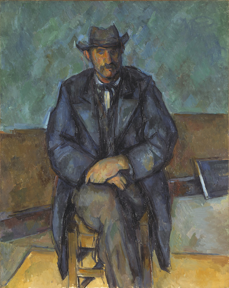 Paul Cézanne-Portrait de paysan