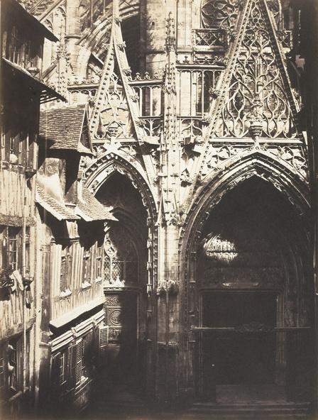 Edmond Bacot-Portail de l'église Saint-Maclou à Rouen