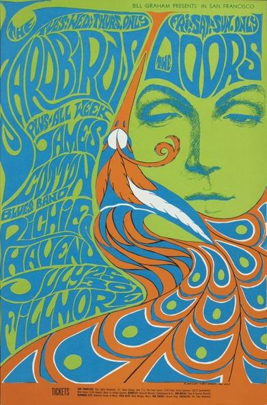 Bonnie MacLean-Affiche pour le concert The Yardbirds