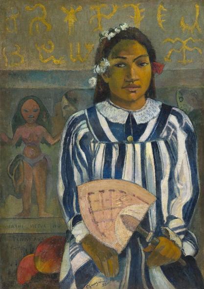 Paul Gauguin-Merahi metua no Tehamana (Tehamana Has Many Parents or The Ancestors of Tehamana)