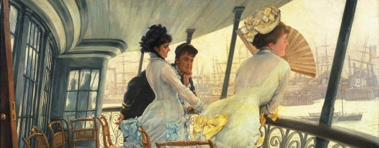 La galerie du HMS Calcutta (Portsmouth) (Vers 1876), James Tissot