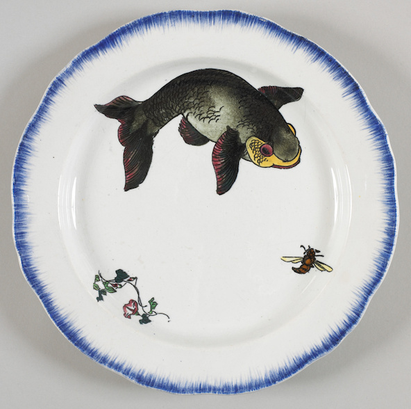 Félix Bracquemond-Assiette plate, service Bracquemond-Rousseau