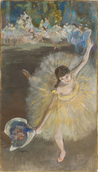 Edgar Degas-Fin d'arabesque