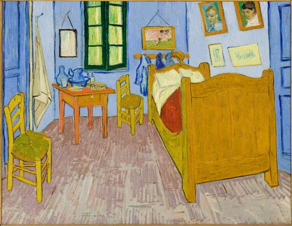 Vincent van Gogh -La chambre de Van Gogh à Arles
