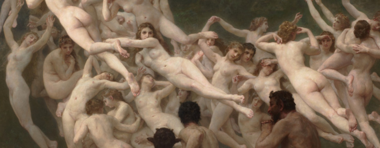 Les Oréades (en 1902), Bouguereau, William