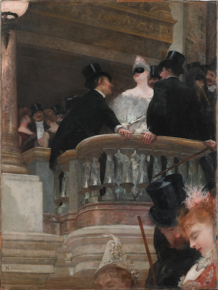 Henri Gervex-Le bal de l'Opéra, Paris