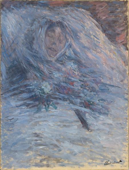 Claude Monet-Camille sur son lit de mort