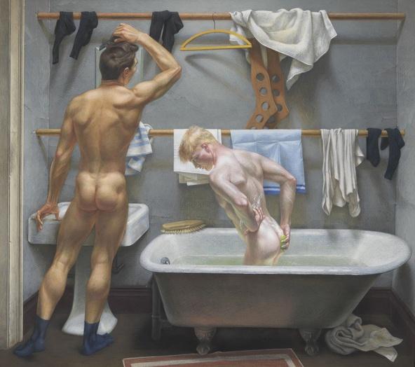 Paul Cadmus-Le Bain (The Bath)
