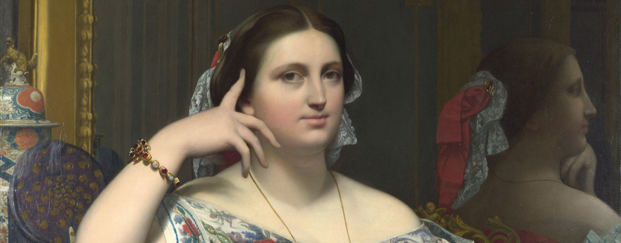 Madame Moitessier, Jean Auguste Dominique Ingres