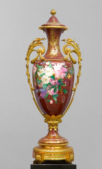Baccarat, Emile Belet-Vase (d'une paire)