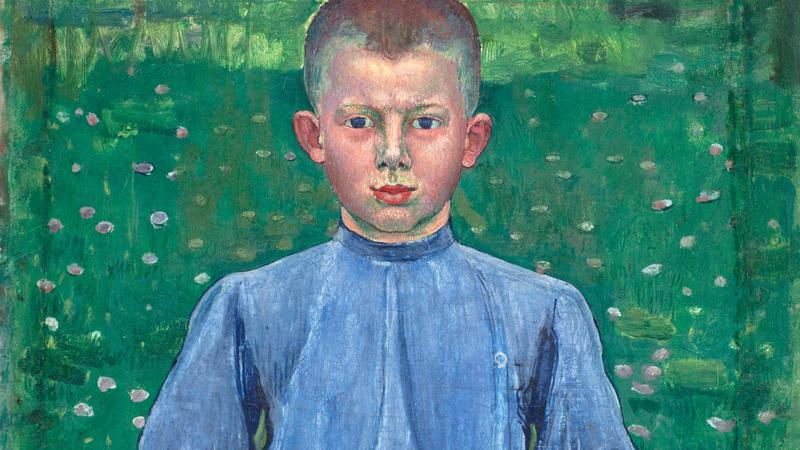 Portrait du jeune Werner Miller (en 1899), Hodler, Ferdinand