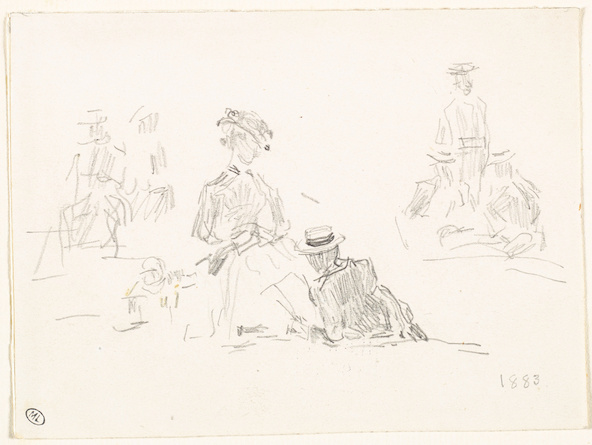 Paul Signac-Femmes au puits
