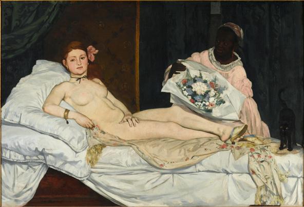 Edouard Manet-Olympia