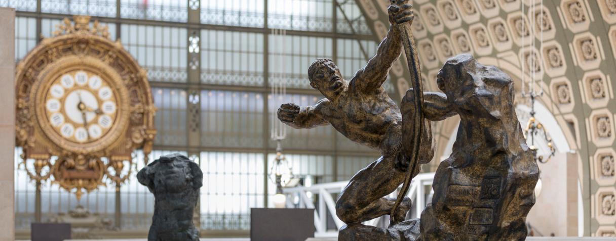Vue de l'horloge du Musée d'Orsay © Musée d'Orsay / Sophie Crépy