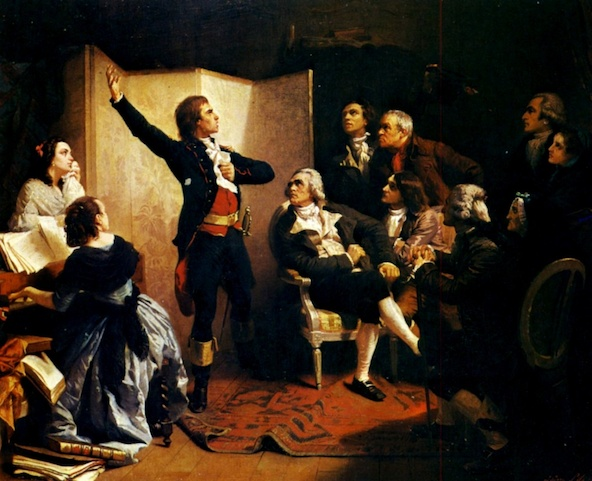 Isidore Pils-Rouget de L'Isle chantant La Marseillaise