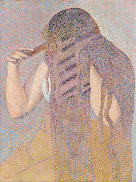 Henri-Edmond Cross-La chevelure