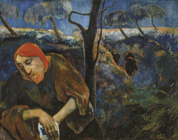 Paul Gauguin-Le Christ au jardin des oliviers