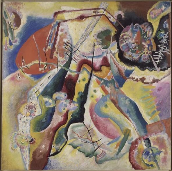 Vassily Kandinsky-Tableau à la tache rouge