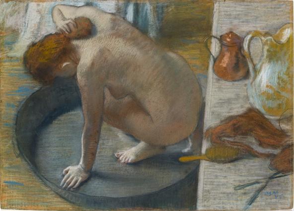 Edgar Degas-Le tub