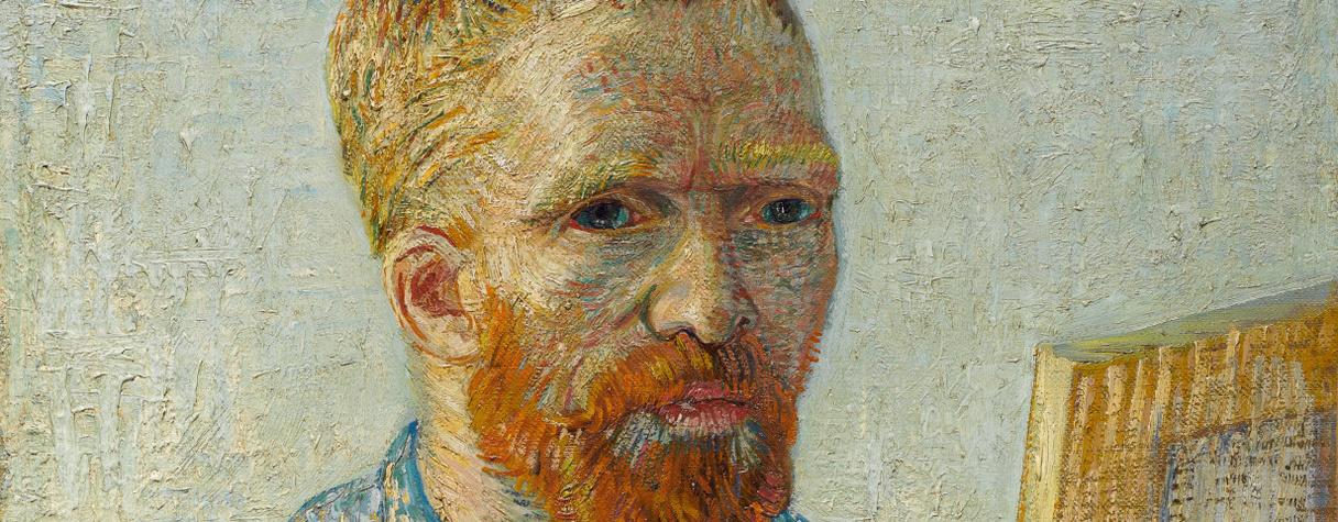 Portrait de l'artiste au chevalet, Paris (Décembre 1887-février 1888), Vincent van Gogh