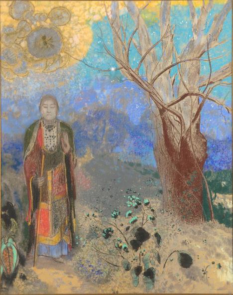 Odilon Redon-Le Bouddha