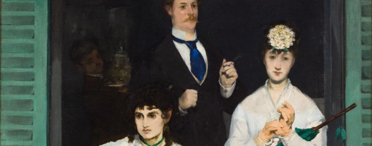 Le balcon, Degas, Edgar, Manet, Edouard, Edouard Manet