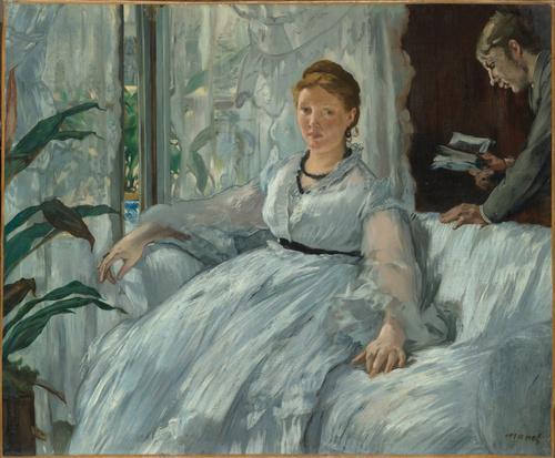 La lecture (entre 1848 et 1883), Manet, Edouard