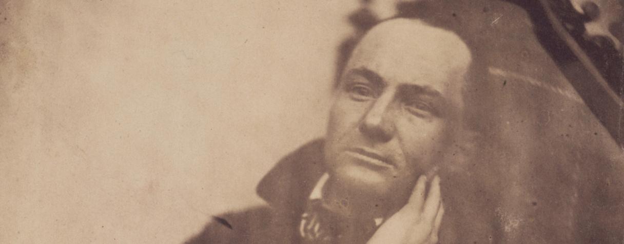 Charles Baudelaire au fauteuil, Nadar, Félix