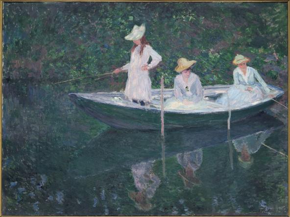 Claude Monet-En norvégienne