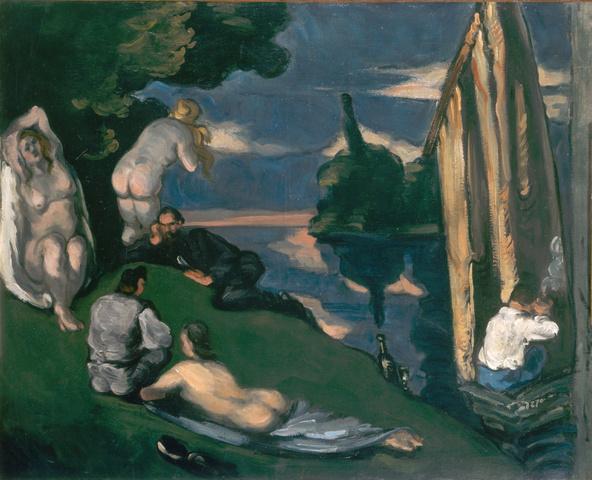 Paul Cézanne-Pastorale, dit aussi Idylle