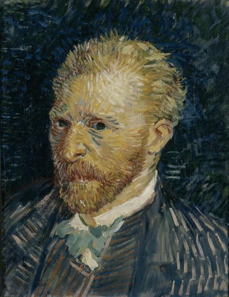 Vincent Van Gogh-Portrait de l'artiste