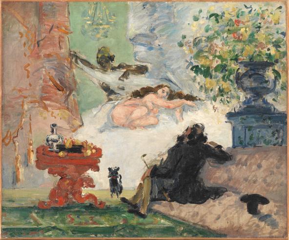 Paul Cézanne-Une moderne Olympia