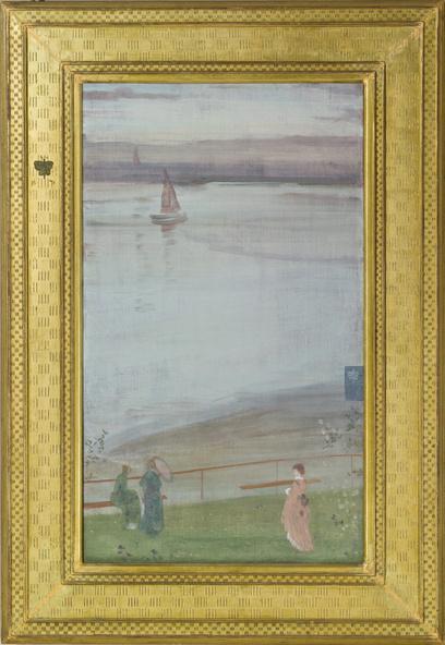 James Abbott McNeill Whistler-Variations en violet et vert